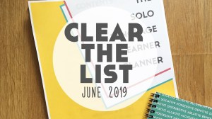 Language Learning Goals: #ClearTheList – June 2019