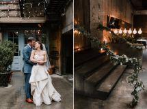 Public Restaurant Wedding Hana & Mike Lindsay Hackney