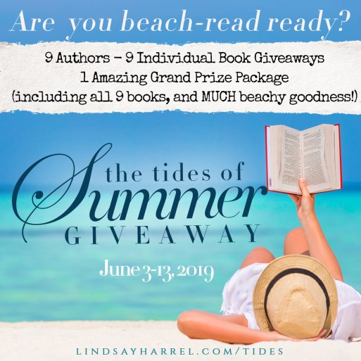 The Tides of Summer Giveaway June 3-13, 2019