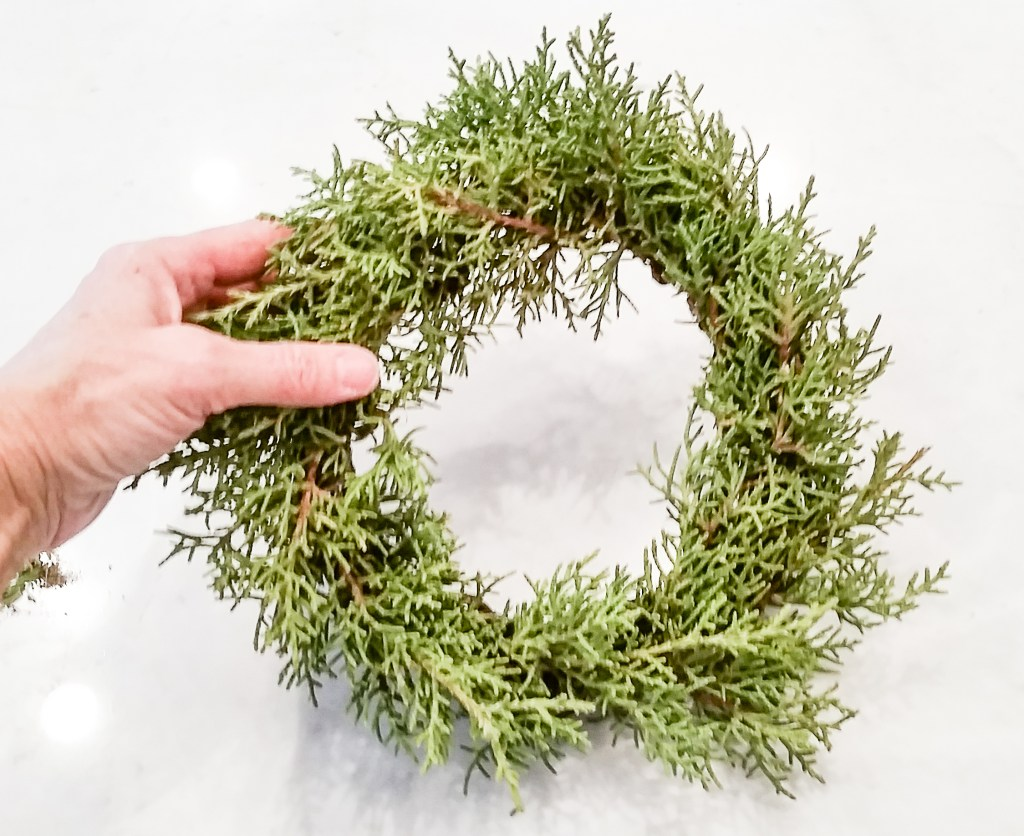 diy wreath tutorial-