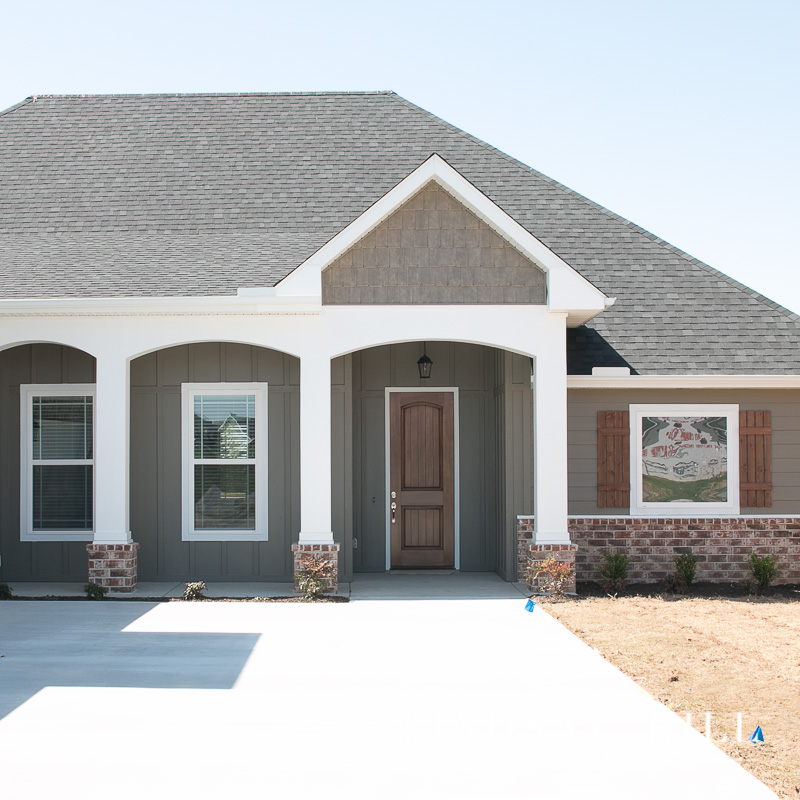 arkansas home exterior with curb appeal