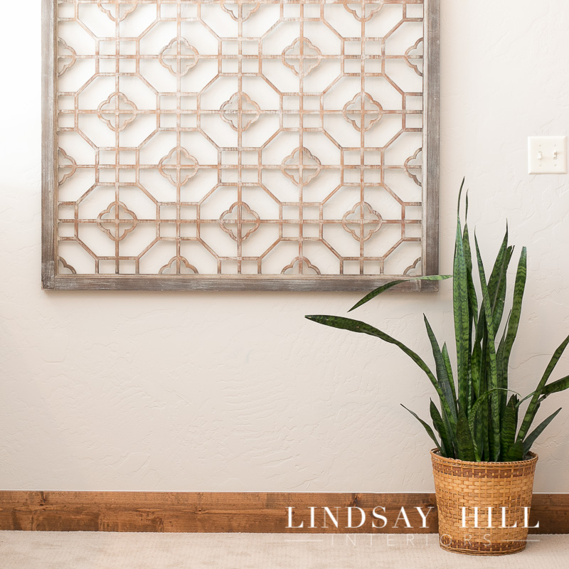 midway townhouse renovation project lattice wall decor