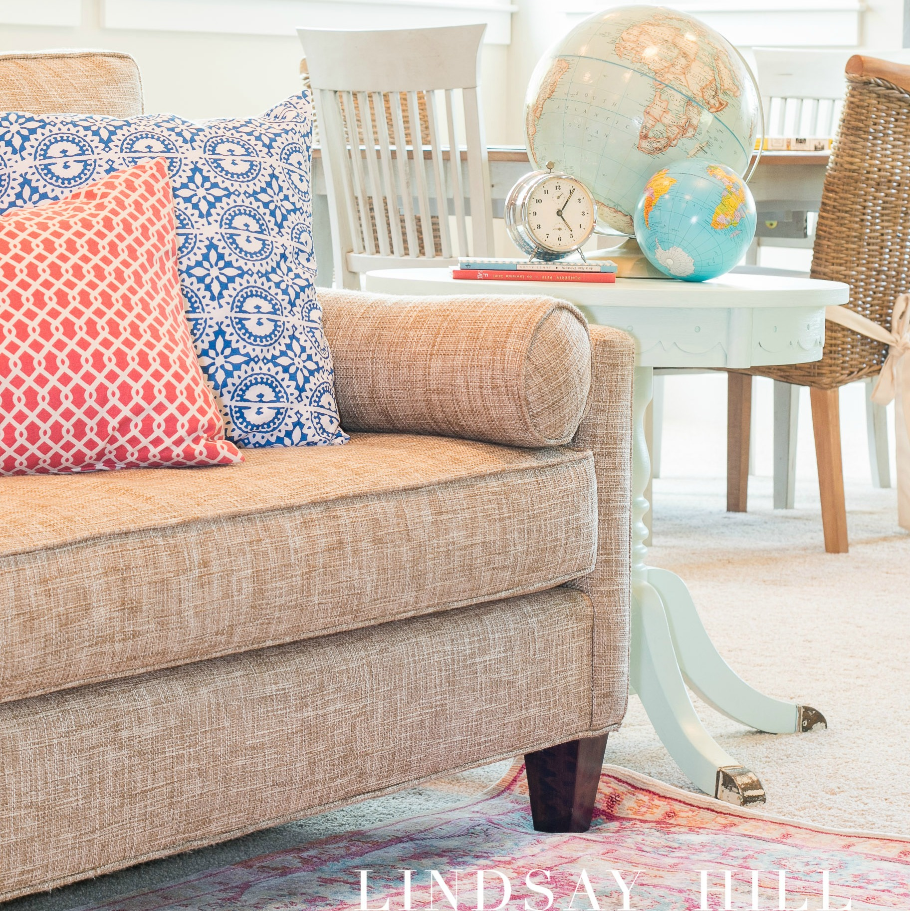 Tips for Styling Large Rooms - Lindsay Hill Interiors