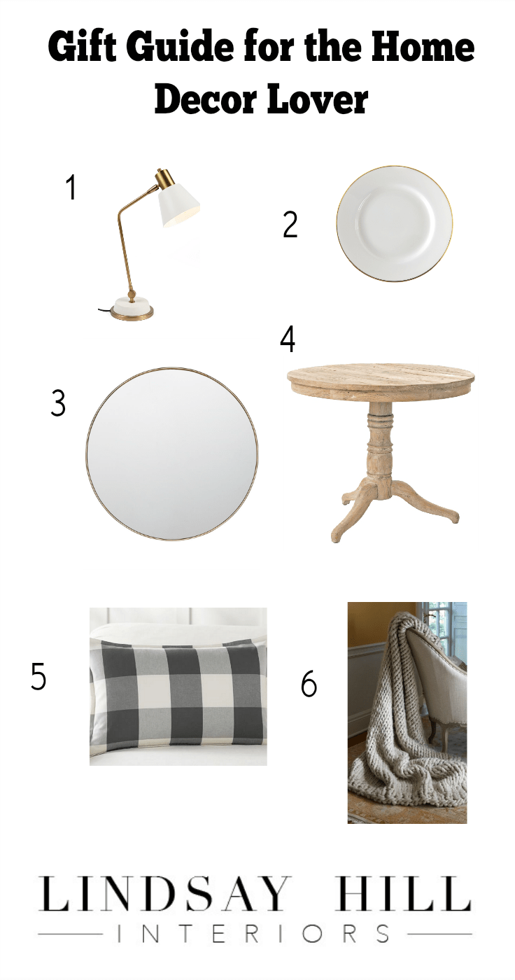 Favorite Things Gift Guide for the Home Decor Lover