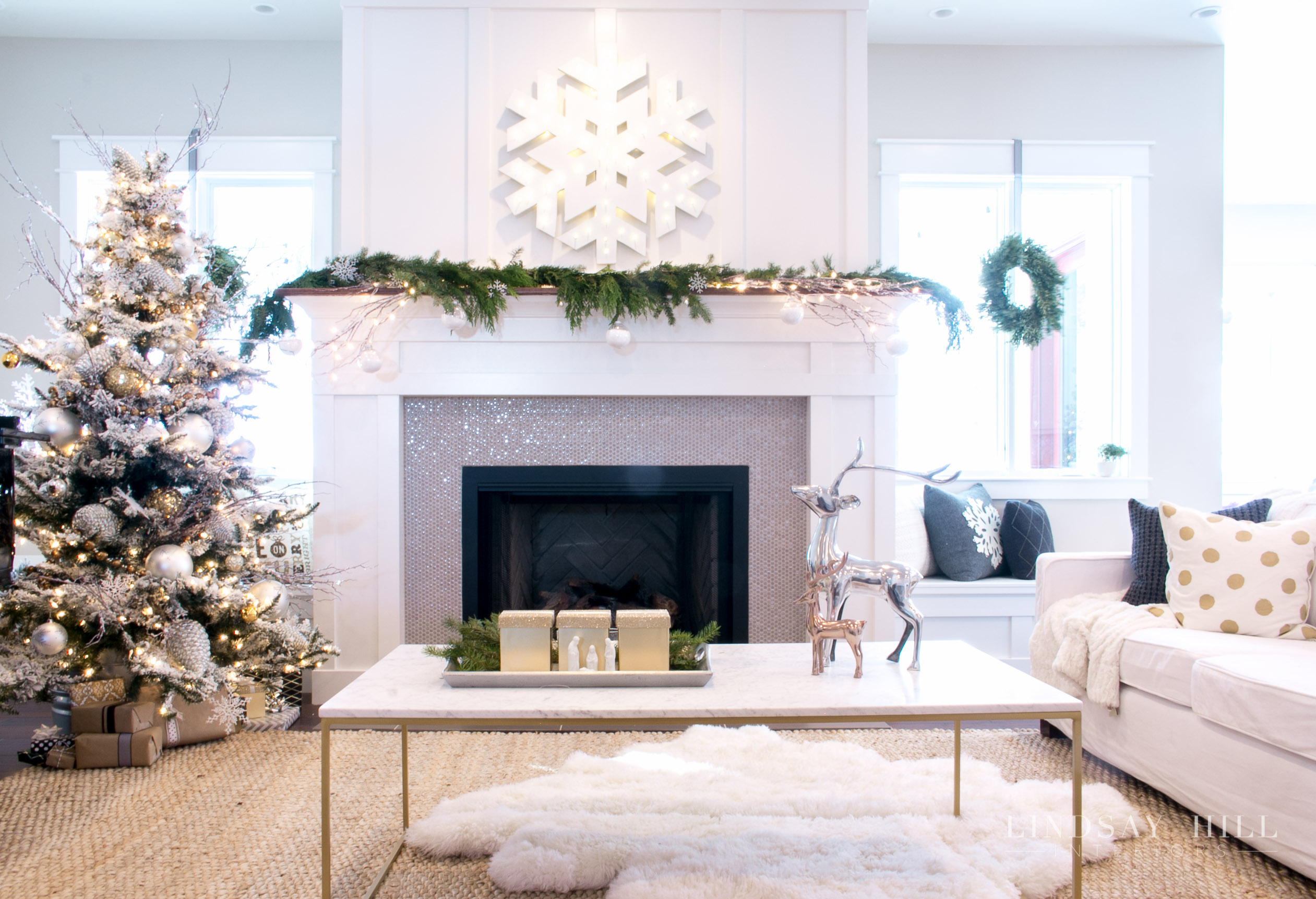 lindsay hill interiors holiday living room