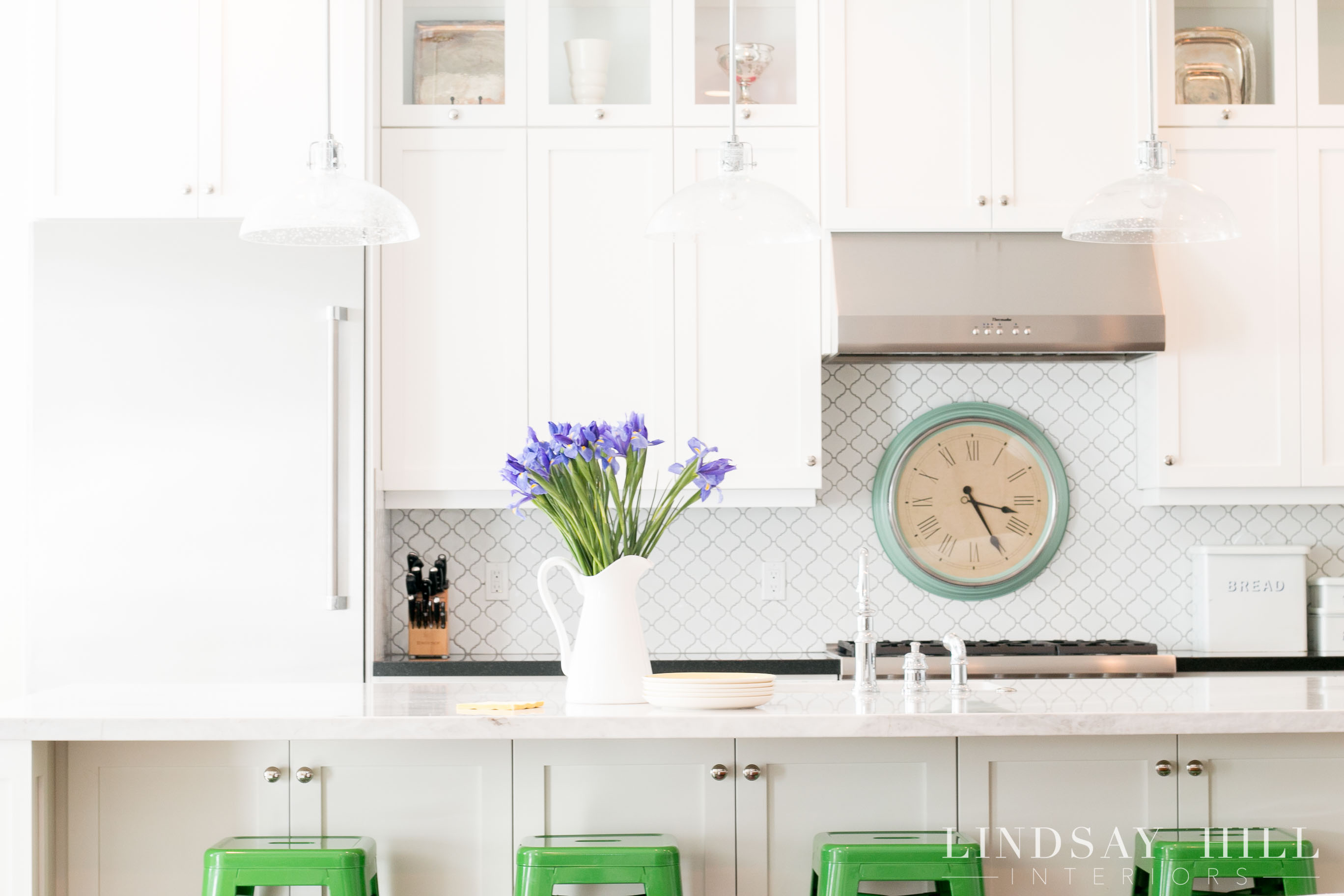 Styled for Spring Home Tour - my spring kitchen - Lindsay Hill ...