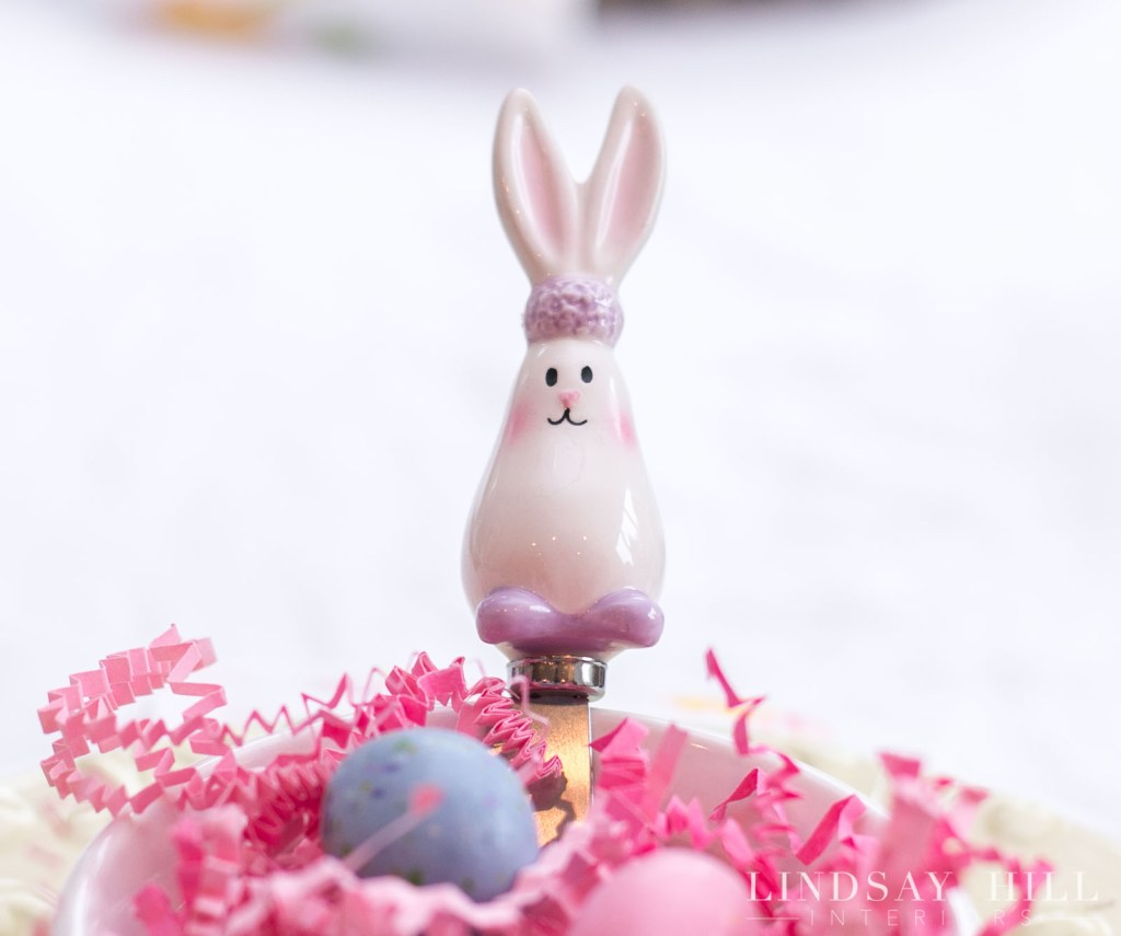 easter parade blog hop table