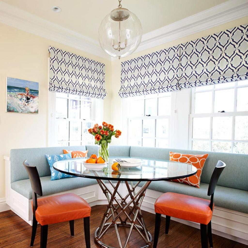 built in banquette seating lindsay hill interiors