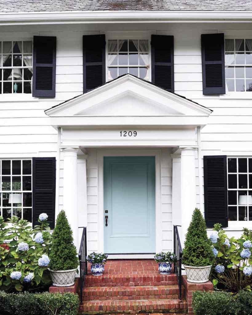 timeless vs trendy white house black shutters