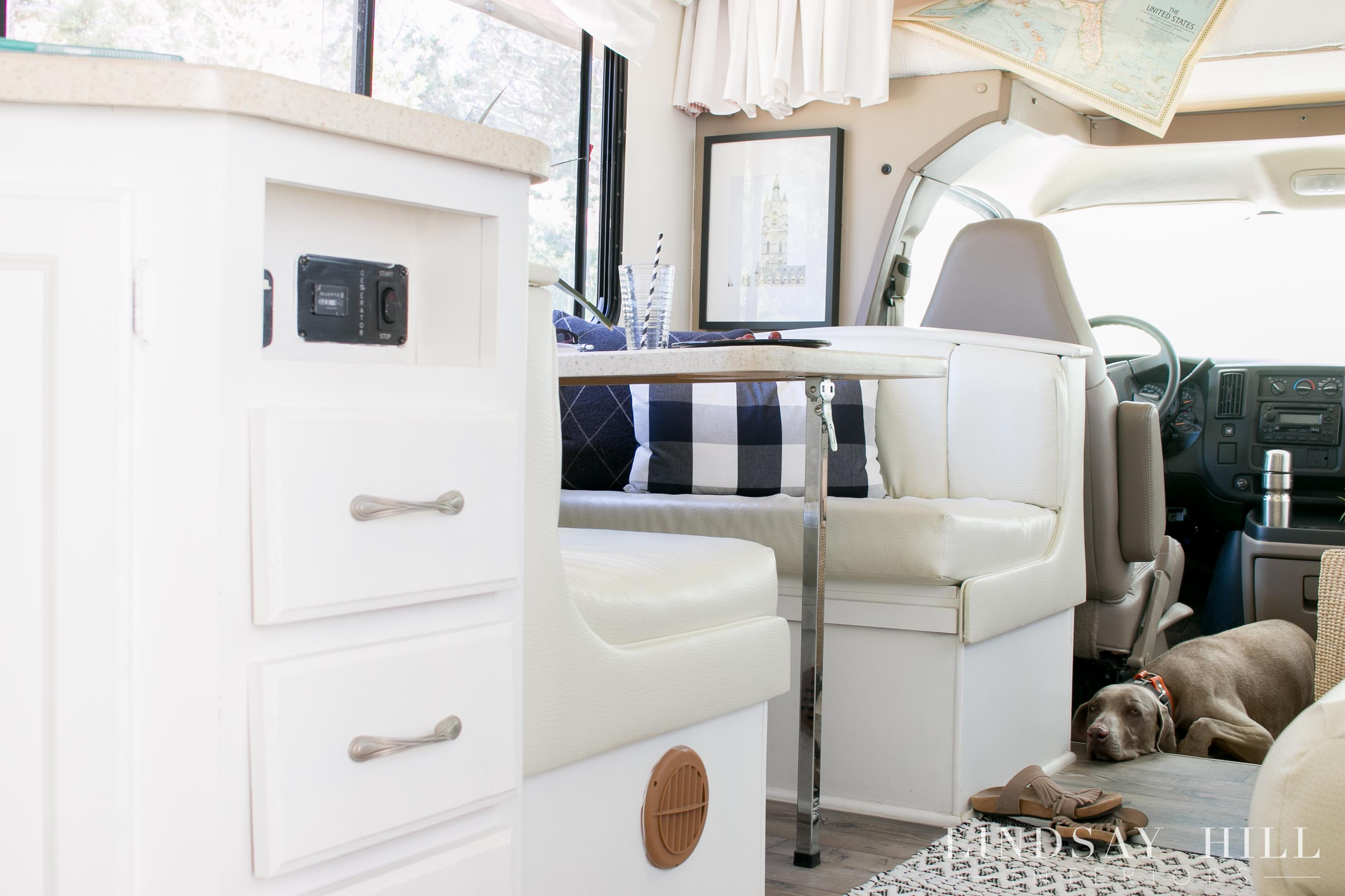 RV Interior Mini Motorhome Make Over
