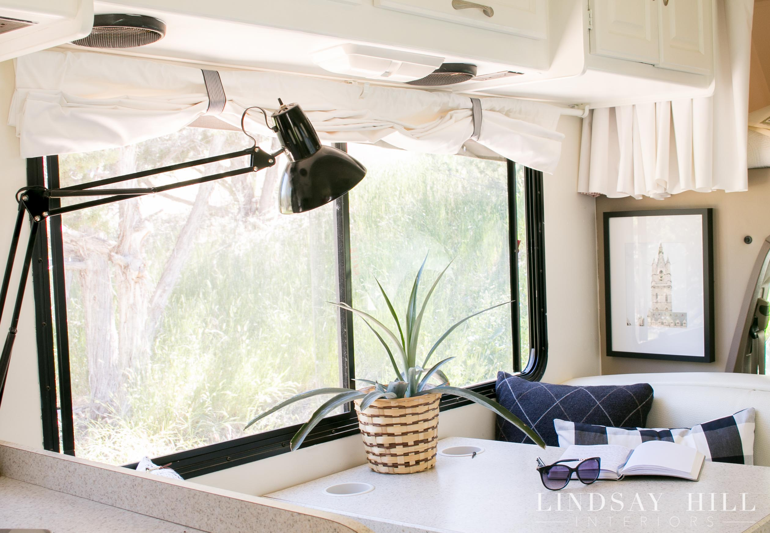 My Awesome Chic RV Makeover - no more brown and boring