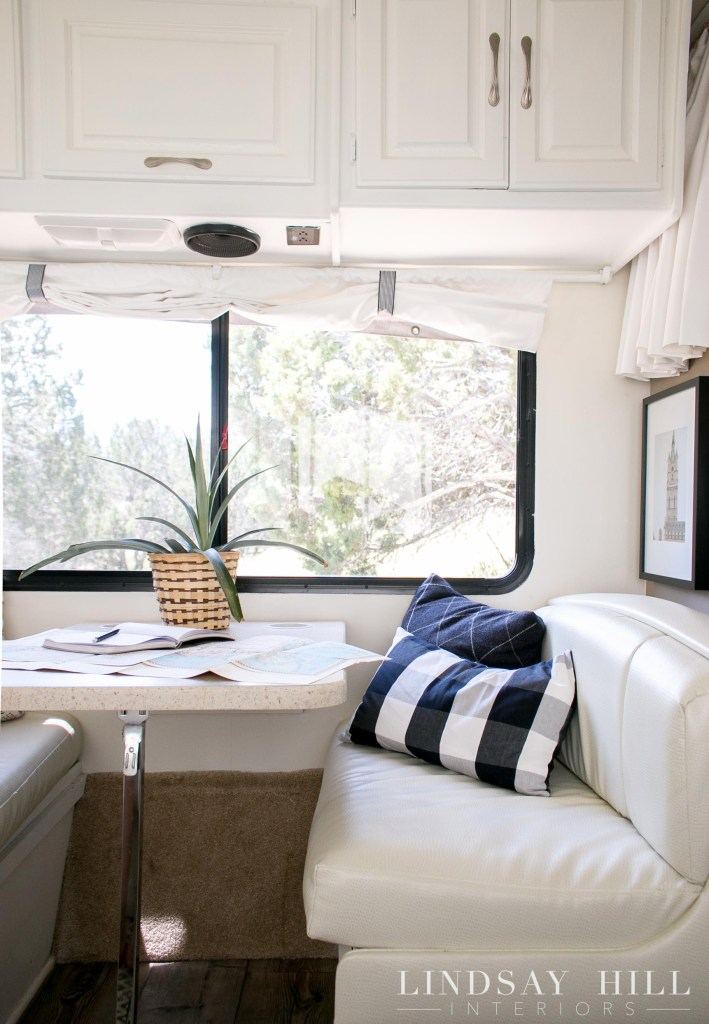 RV interior mini motorhome make over
