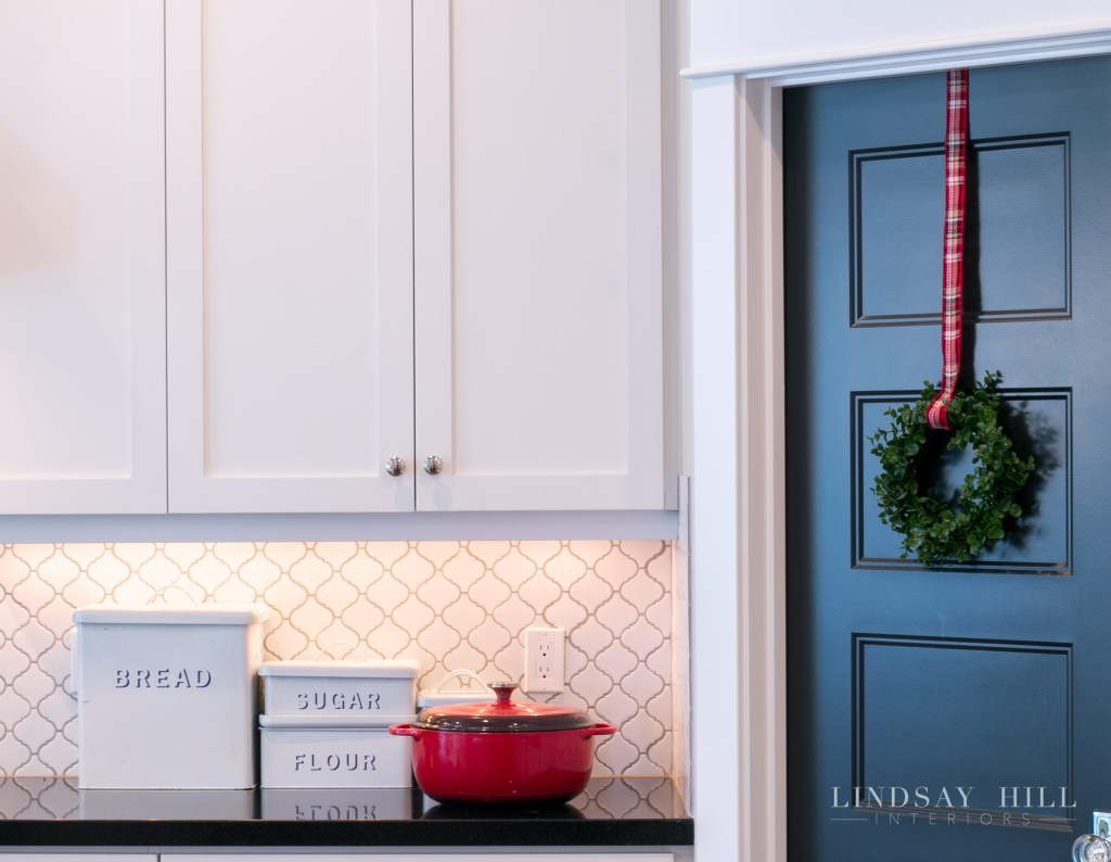 lindsay hill interiors kitchen bread box christmas