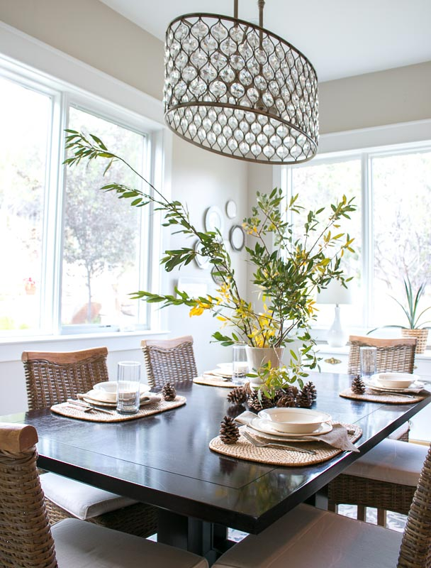 Fall Home Tour 2017 Lindsay Hill Interiors dining room