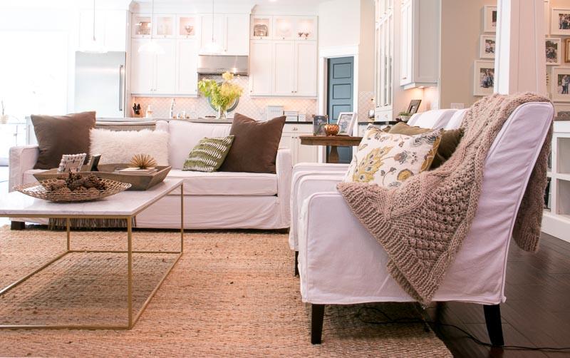 Lindsay Hill Interiors Fall 2017 Home Tour living room