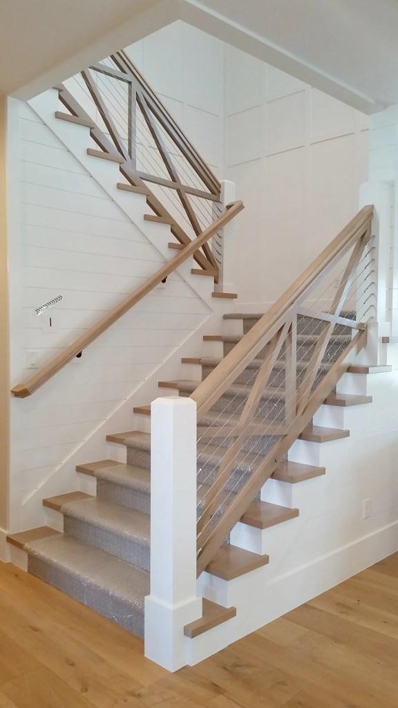 design trends stairway rails