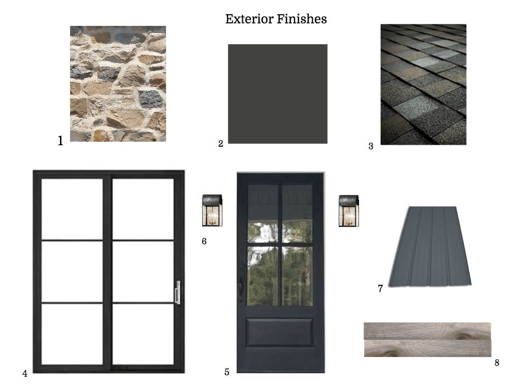 choosing exterior finishes