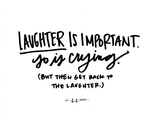 Laughing & Crying (& Laughing Again) » lindsay letters