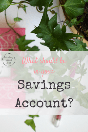 Free Budget printables! Click to get them and to learn how you should be managing your savings account to ensure that you have enough funds for financial goals as well as unexpected expenses and emergency funds