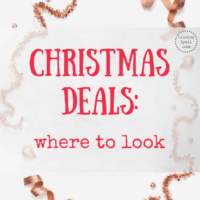 Christmas Deals: Where to Look