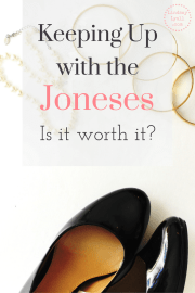 Keeping up with the Joneses is such a strong temptation in our society. Learn why this competition will destroy your finances and your happiness and how you can avoid it. Debt free, financial freedom.