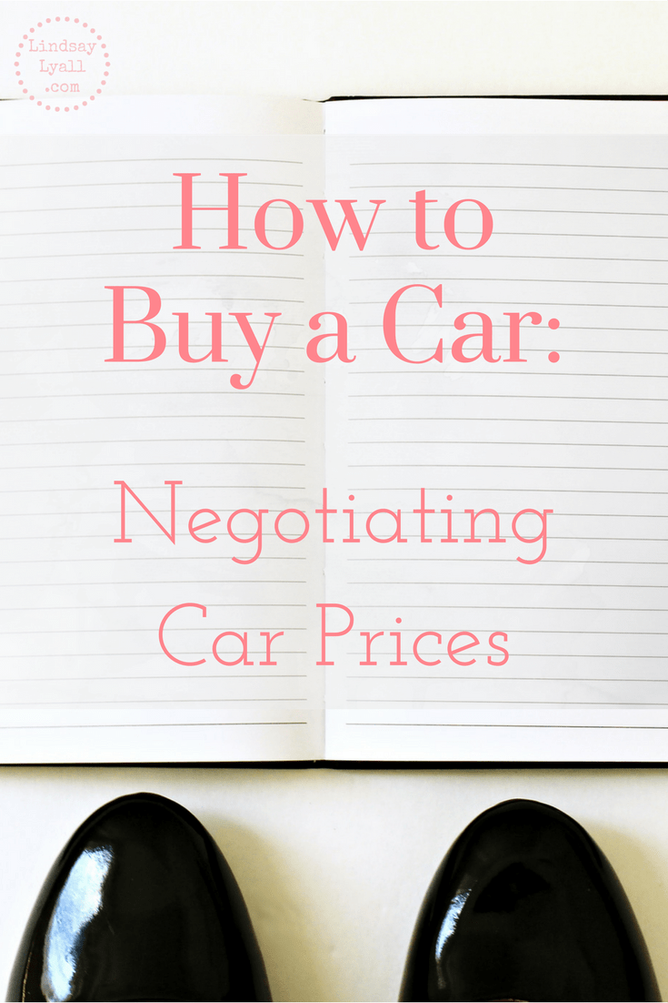 How to Buy a Car: Negotiating Car Prices