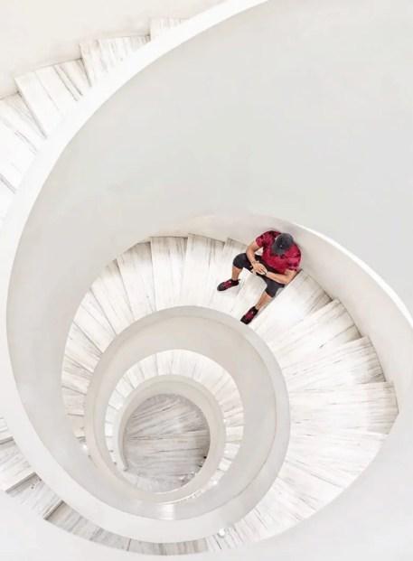 barneys staircase