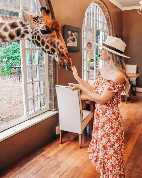 giraffe manor nairbobi kenya