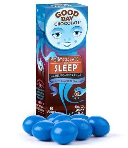 good day sleep chocolate