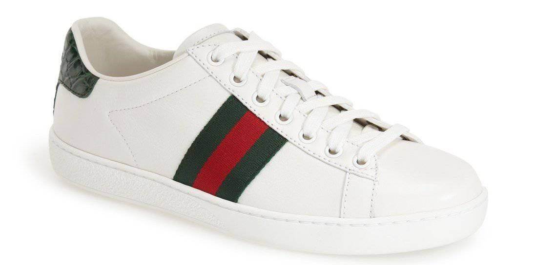 best white sneakers for women gucci low top