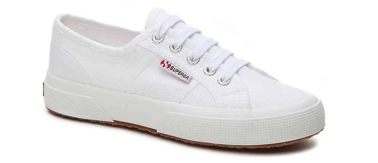 white sneakers for women superga 2750
