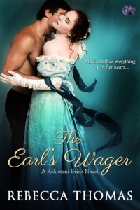 {Steamy Historical Romance Review} The Earl's Wager by @Rebecca_Thomas3