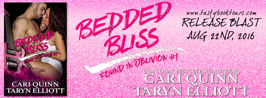 {Married in Vegas New Release} Bedded Bliss by @TarynElliottFic & @CariQuinn