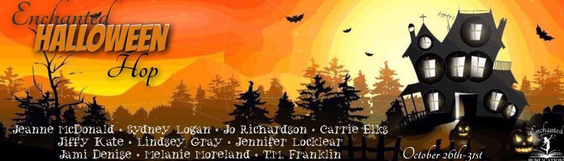 {Enchanted Halloween Hop} Chance to win books, Amazon cash, and more!