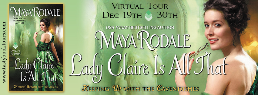 {Historical Romance Review} Lady Claire is All That by @MayaRodale