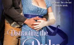 {Hot Historical Review} Distracting the Duke by @EKeysian