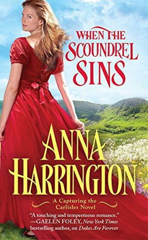{Capturing the Carlisles Review} When the Scoundrel Sins by @AHarrington2875