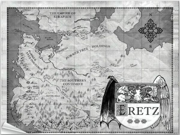 Map of Eretz (Daughter of Smoke and Bone)