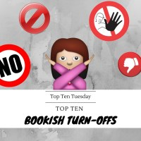 Top Ten Bookish Turn-Offs {Top Ten Tuesday}
