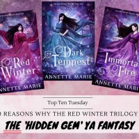 Ten Reasons Why The Red Winter Trilogy Is THE Hidden Gem YA Fantasy {Top Ten Tuesday}