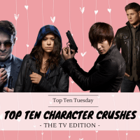 Top Ten Character Crushes - The TV Edition {Top Ten Tuesday}