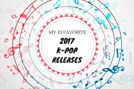 2017 K-pop releases