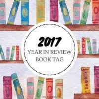The 2017 Year In Review Book Tag {Tag Thursday}