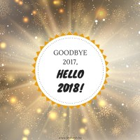 Goodbye 2017, Hello 2018! {Something Different Sunday}