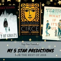 My 5 Star Predictions For The Rest of 2018 {Top Ten Tuesday}