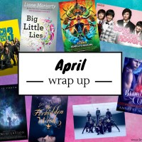 April 2018: The Month Of Clumsy Nymphs, Immortal Jinni and Scary Moms {Monthly Wrap Up}