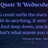 Throne of Glass by Sarah J. Maas {Quote It Wednesday}