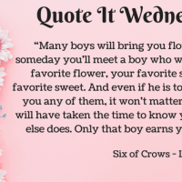 Six of Crows by Leigh Bardugo {Quote It Wednesday}