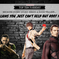 Villains You Just Can't Help But Root For {Top Ten Tuesday}