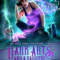 More Humor, More Worldbuilding & More Intriguing Characters Equals More Fangirling From Me -- Dark Arts and a Daiquiri by Annette Marie {ARC Book Review}